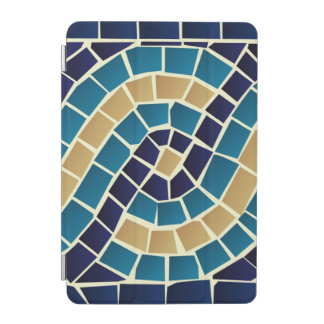 Wave Mosaic Pattern iPad Mini Cover