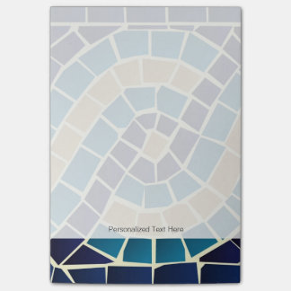 Wave Mosaic Pattern Post-it Notes