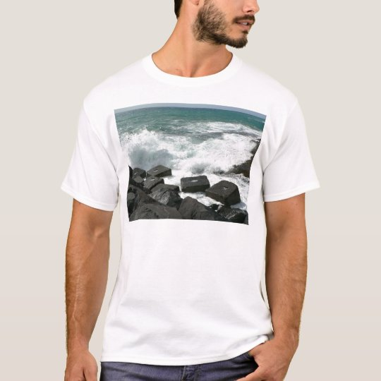Wave On Pier T-Shirt