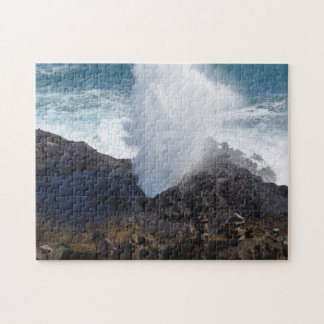 Wave on the rocks jigsaw puzzle