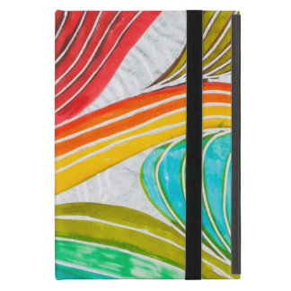 Wave Pattern Drawn By Watercolor Paints Case For iPad Mini