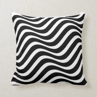 Wave Pattern Pillow Throw Cushion