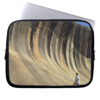 Wave Rock, Western Australia Laptop Sleeve