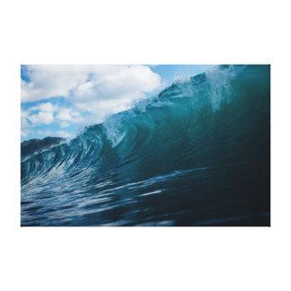 Wave | Sky | Sea | Ocean Canvas Print