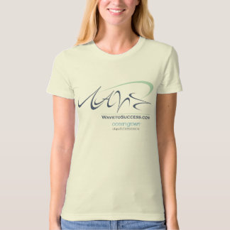 Wave to Success - Ladies Organic T-Shirt (Fitted)
