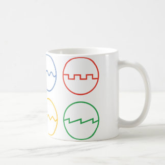 Waveforms Coffee Mug