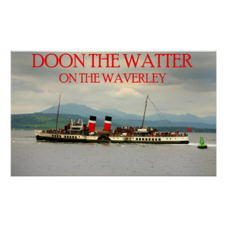 waverley on the clyde poster