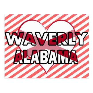 Waverly, Alabama Postcard