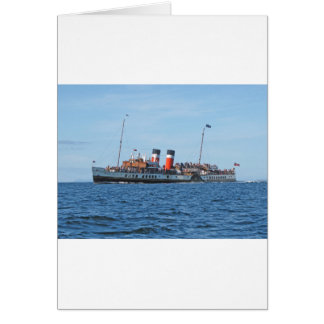 Waverly paddle steamer card