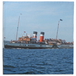 Waverly paddle steamer napkin