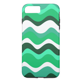 Waves 2 (green) iPhone 8 plus/7 plus case