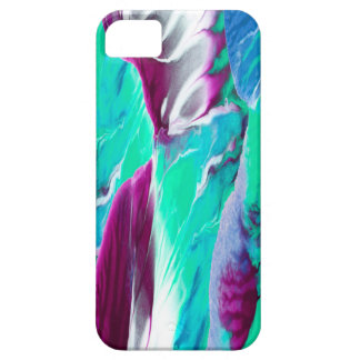 """Waves"" Abstract Painting Barely There iPhone 5 Case"