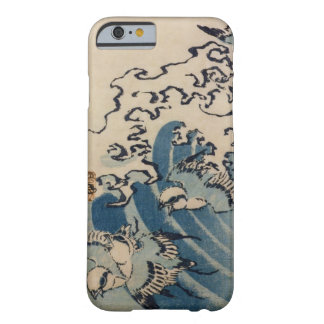 Waves and Birds, c.1825 (colour woodblock ) Barely There iPhone 6 Case