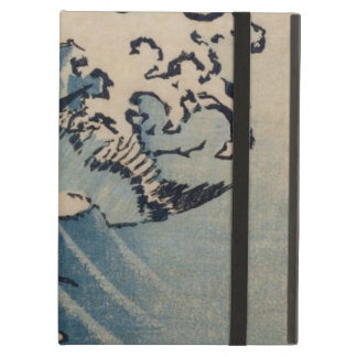 Waves and Birds, c.1825 (colour woodblock print) Case For iPad Air