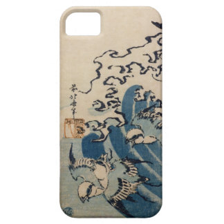 Waves and Birds, c.1825 (colour woodblock print) Case For The iPhone 5