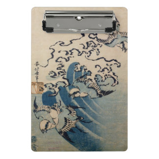 Waves and Birds, c.1825 Mini Clipboard