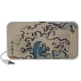 Waves and Birds, c.1825 Laptop Speaker