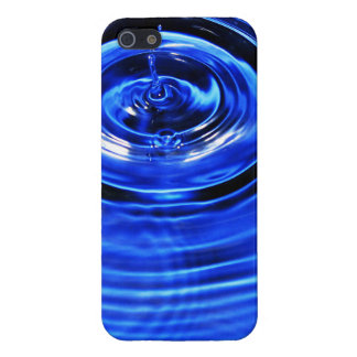 Waves and Circles Macro Water Drop Photo Case For The iPhone 5