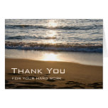 Waves at Sunset Administrative Professionals Day Cards