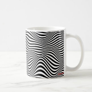 waves basic white mug