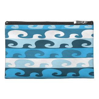 Waves (blue) travel accessory bag