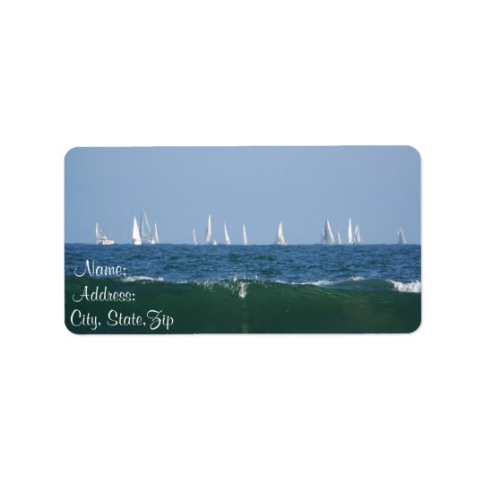 Waves & Boats_ Label