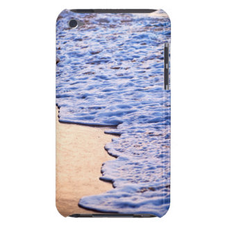 Waves breaking on tropical shore iPod touch case