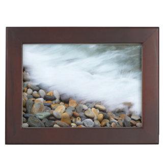 Waves Breaking Onto Pebbles, Tsitsikamma Keepsake Box