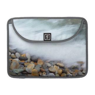 Waves Breaking Onto Pebbles, Tsitsikamma Sleeve For MacBook Pro