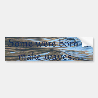 Waves - Bumper Sticker
