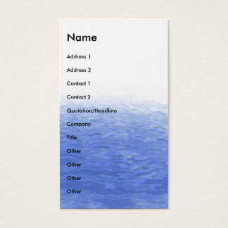 Waves | business card