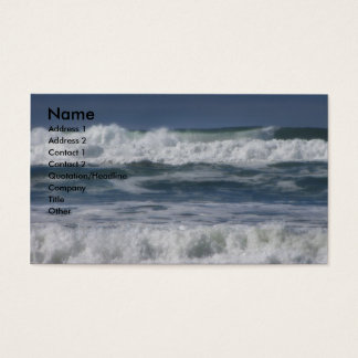Waves Business Card