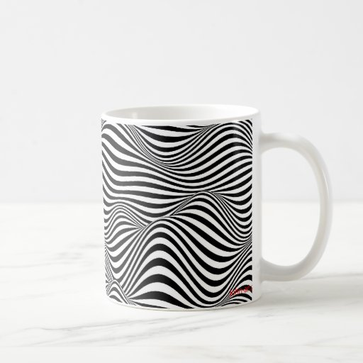 waves classic white coffee mug