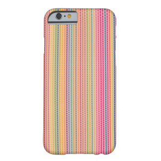 Waves Colourful Pattern on iPhone 6 Case / Skin Barely There iPhone 6 Case
