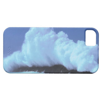waves crashing against rocks case for the iPhone 5