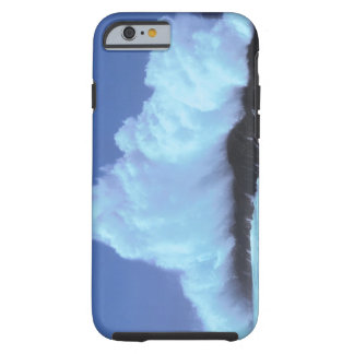 waves crashing against rocks tough iPhone 6 case