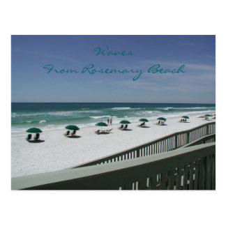 Waves From Rosemary Beach Postcard