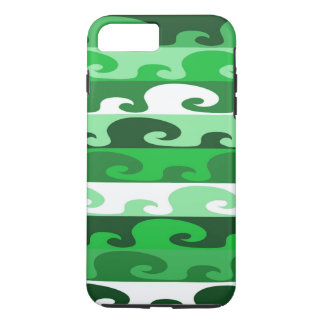 Waves (green) iPhone 8 plus/7 plus case