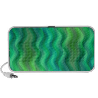 waves green no 1 travelling speaker
