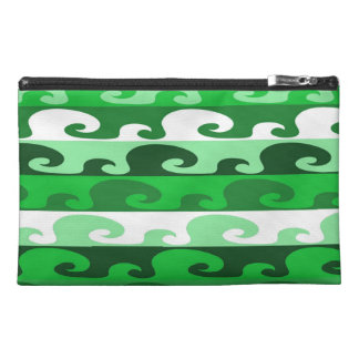 Waves (green) travel accessory bag
