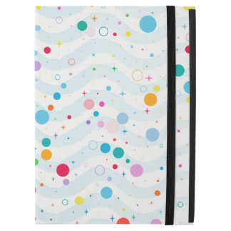"Waves -happy dots- iPad pro 12.9"" case"