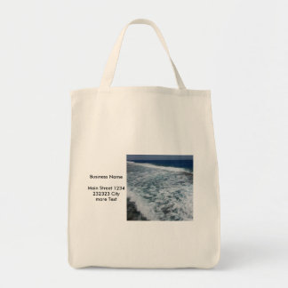 waves (I) Grocery Tote Bag