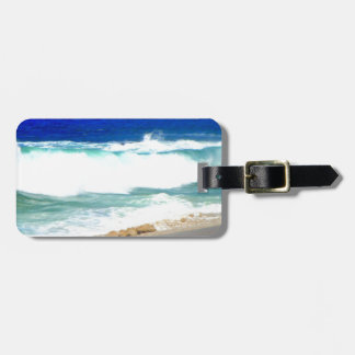Waves in Cabo Luggage Tag