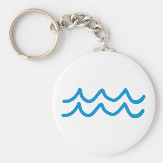 Waves Key Ring