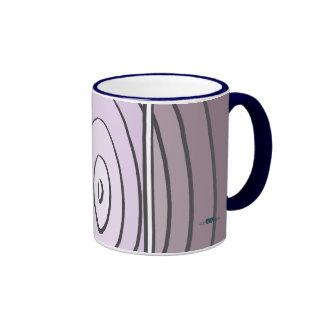 Waves Lilacs Ringer Mug