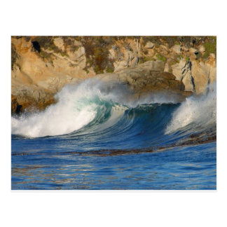 waves-near-monterey waves Monterey , Travel, natur Postcard