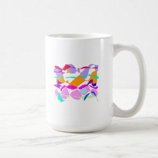 Waves Ocean Beach Sun Swimming Glass Mugs