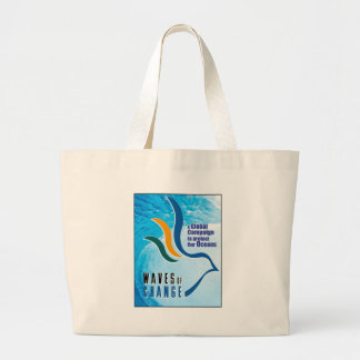 Waves of Change Beach Bag - Customized