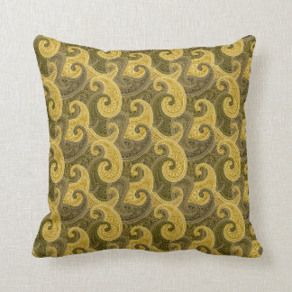 Waves of gold American MoJo Pillow