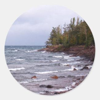 Waves of Lake Superior Sticker